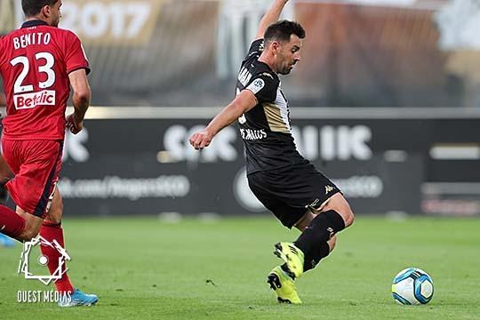Ouest MEDIAS Angers SCO Bordeaux Ligue 1 photo socialmedia digital but Thomas Mangani