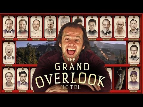 The Grand Budapest Hotel + The Shining