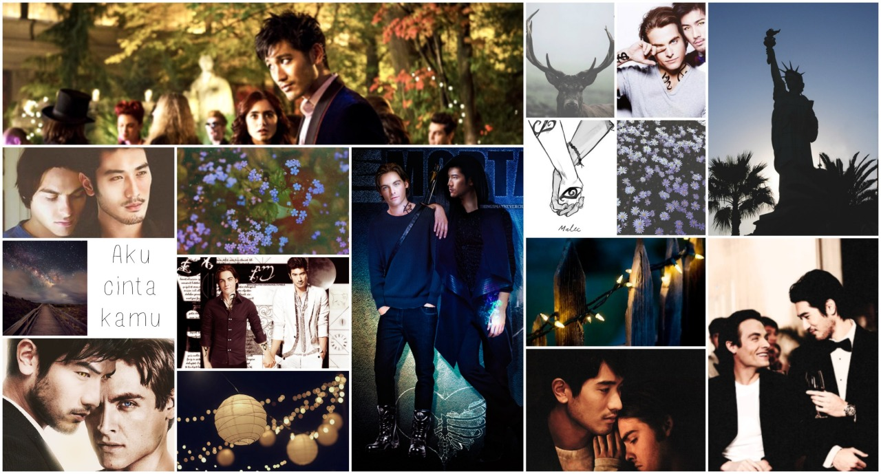 Tumblr Wallpaper Collages My Very First Malec Wallpaper Collage