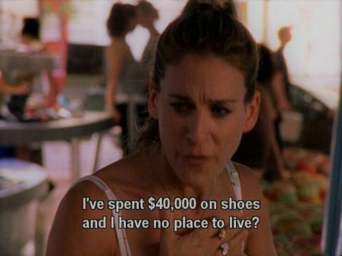 #sexandthecity#shoppingaddict#shoes#homeless#carriebradshaw#sarahjessicaparker#satc#samanthajones#chrisnorth#mrbig#charlotteyork#cynthianixon#kimcattrall#mirandahobbes#fashion#nyc#newyork#manhattan#stevebrady#sjp#tvshows