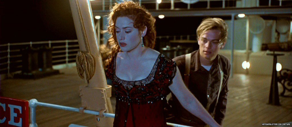 Jess in a Yellow Dress - Titanic at 20: Rose's Dresses Ranked