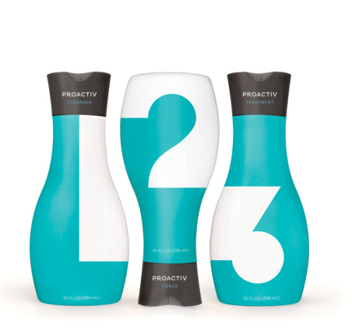 Proactiv Typographic Packaging