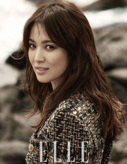 Song Hye Kyo - Elle China Magazine Pics