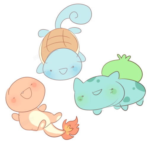 pokemon bulbasaur squirtle charmander nintendo pkmn my art art blog doodle sketch