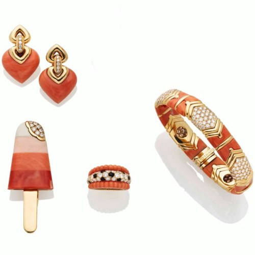 delicious ideas & precious creativities.          #bulgari.                                 #gold #diamond #coral #ring #bracelet #brooch #earrings #icecream #tasty #delicious #precious #creative #jewellery #jewelsoftheday #combination #concept #sothebysjewels  https://www.instagram.com/p/B8WDzEyFS3l/?igshid=wcd6n14h23qm #bulgari#gold#diamond#coral#ring#bracelet#brooch#earrings#icecream#tasty#delicious#precious#creative#jewellery#jewelsoftheday#combination#concept#sothebysjewels