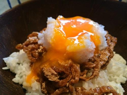 お手軽どんぶり「キツネ月見おろし丼」 - オレシピ - 俺のレシピはお前のレシピ-