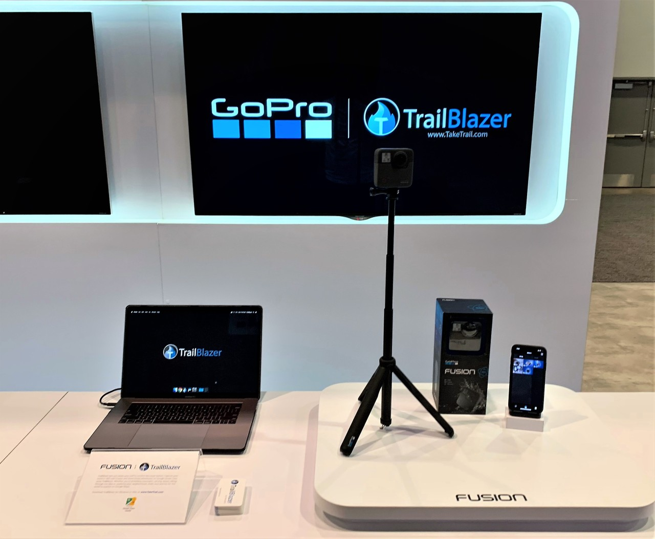 TrailBlazer at NAB 2019
