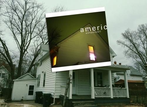 American football american football band polyvinyl polyvinyl records music emo sad album art mike kinsella Illinois