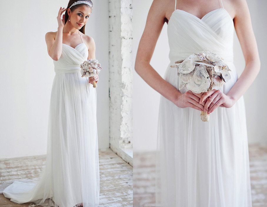 Simple Yet Elegant Greek Wedding Dresses To Make
