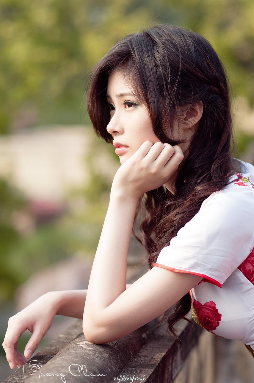 sexy girl, Vietnam beautiful girl, Girl Việt xinh, hot girl, ao dai