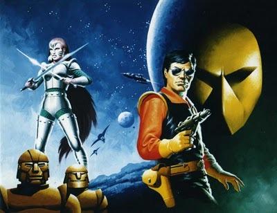 starblazer comics space opera villain spaceships planet