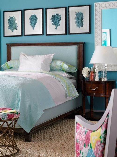 bed blue bedding lilly pulitzer bed set