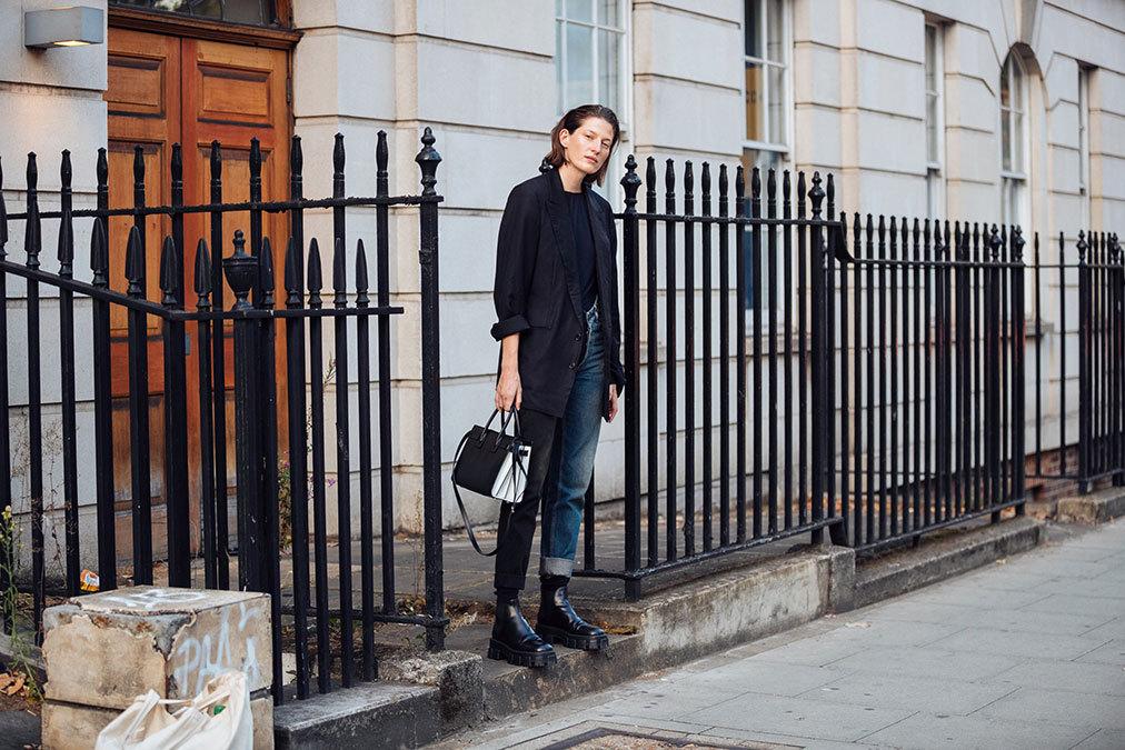 #Jennae Quisenberry #Model off duty #street style#lfw#ss 2020