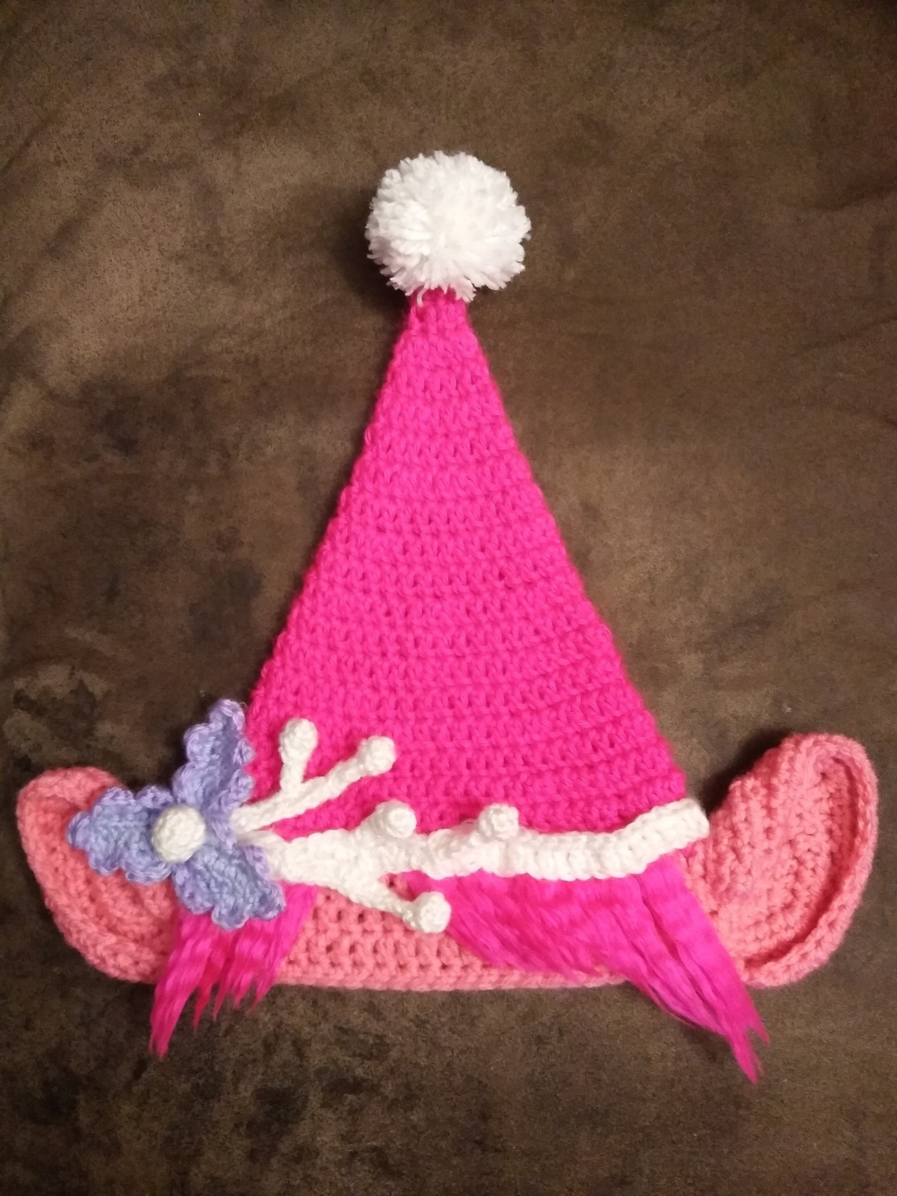Troll ear crochet pattern. 67f2e737069