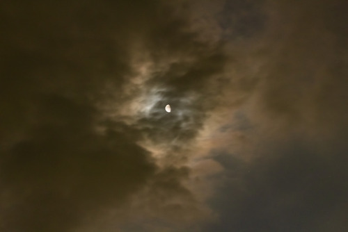 meme-xx: Moon and cloud (Jun. 5, 2018) #moon