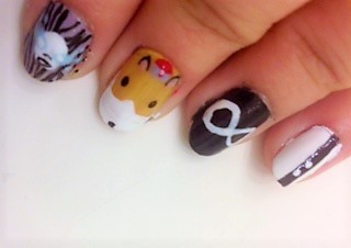 Cartoon Network Nail Art Tumblr