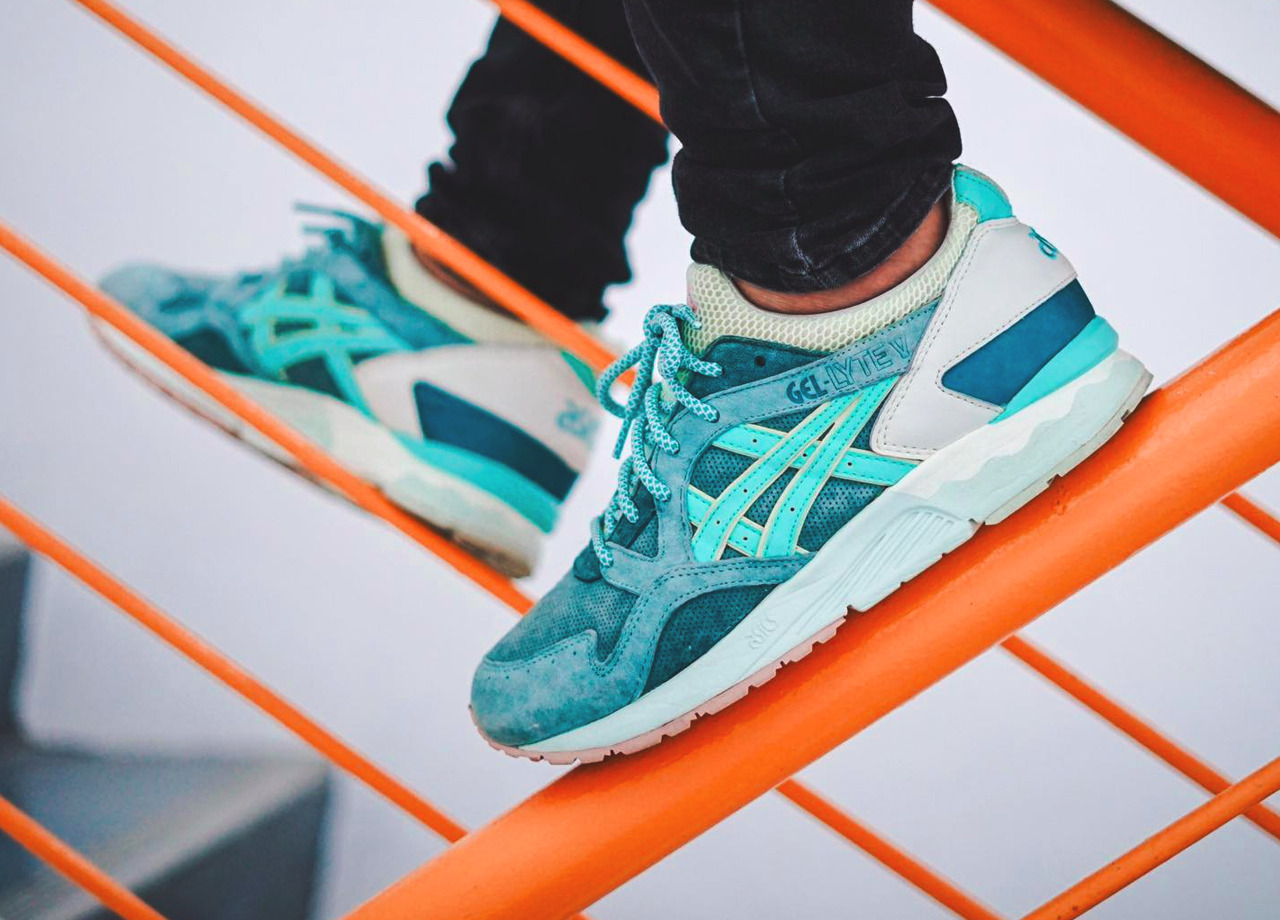 hot sale online d9a54 7cc9a Ronnie Fieg x Asics Gel Lyte V 'Sage' - 2014 (by ...