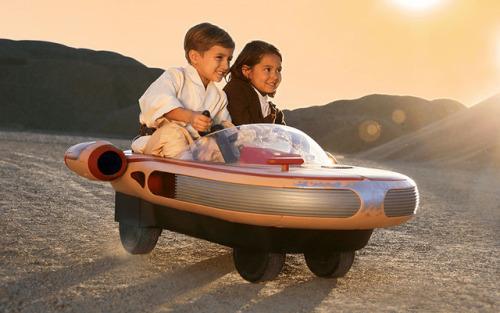 Luke Skywalker's Landspeeder Ride-on Toy Lets Your Kids Play JediHowever I refused to grow up, I will never fit in… sad