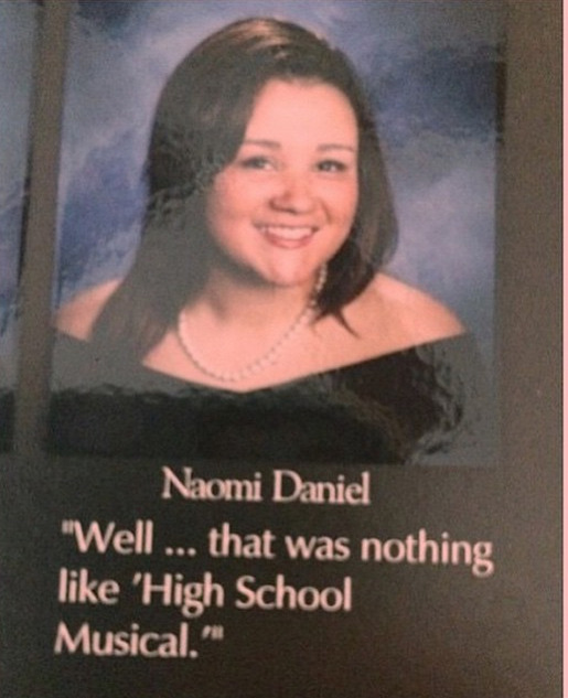Yearbook Quotes — Well… that was nothing like \'High School ...