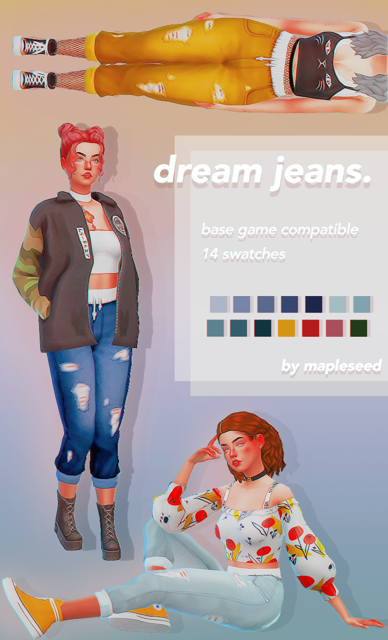 moved to delsolphine — dream jeans  for the kind of sim to