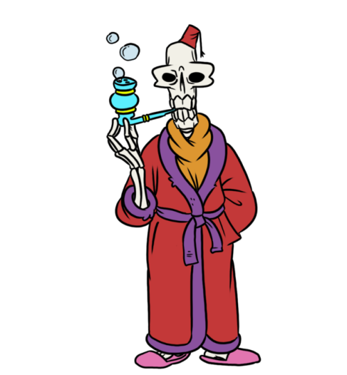 skeleton sophistication class high society bubble pipe smoking is bad for you bone month part 03 doot