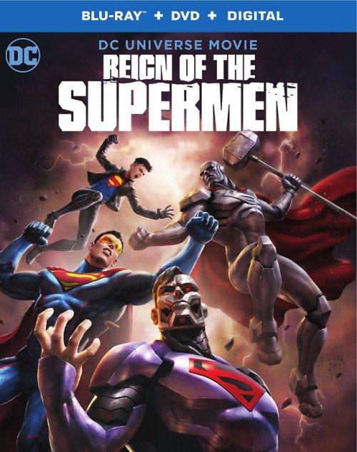 reign of the supermen superman steel john henry irons cyborg superman superboy eradicator