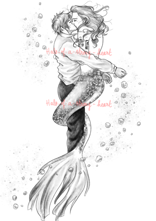 mermaid merman art tumblr