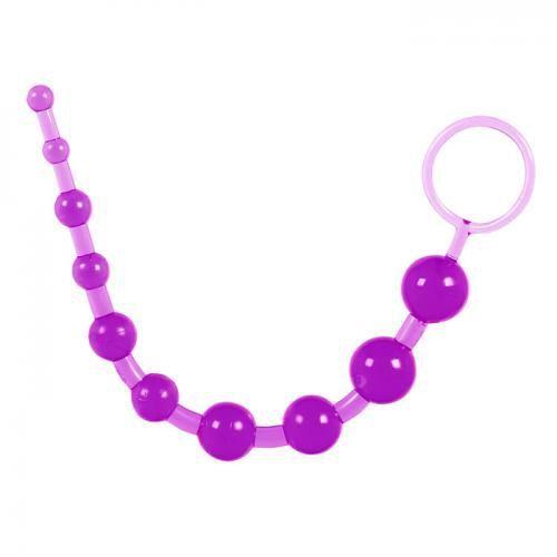 Thrashn-Around  Anal Beads 10 Thai Toy Adult Item Toy Joy -9352