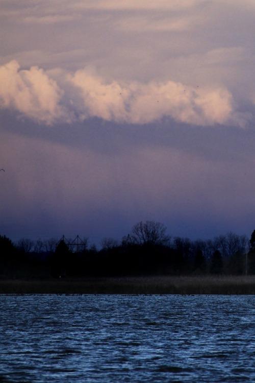 photographers on tumbl landscape lake water weather storm purple Fall Autumn walking-geema
