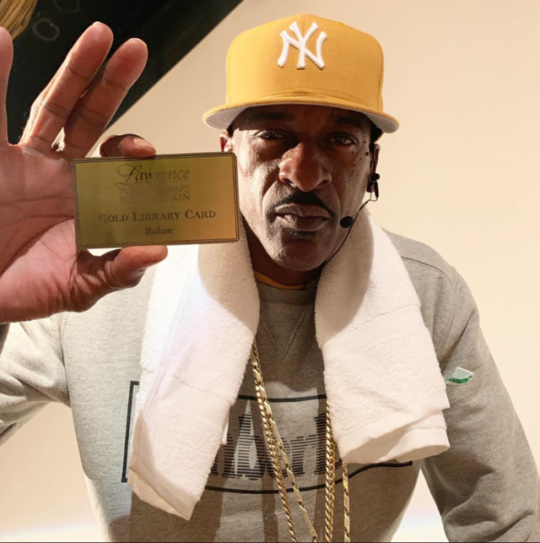 Officially a permanent gold LPL card holder. You always have a place at our library, Rakim.