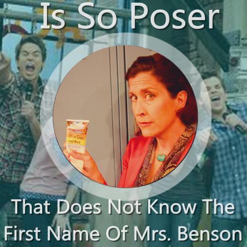 icarly mrs. benson poser