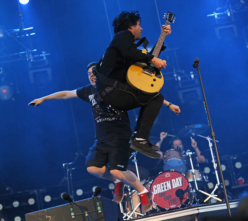 #green day #billie joe armstrong #tre cool