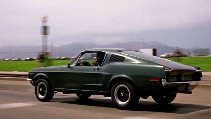 1968 Ford Mustang GT Fastback