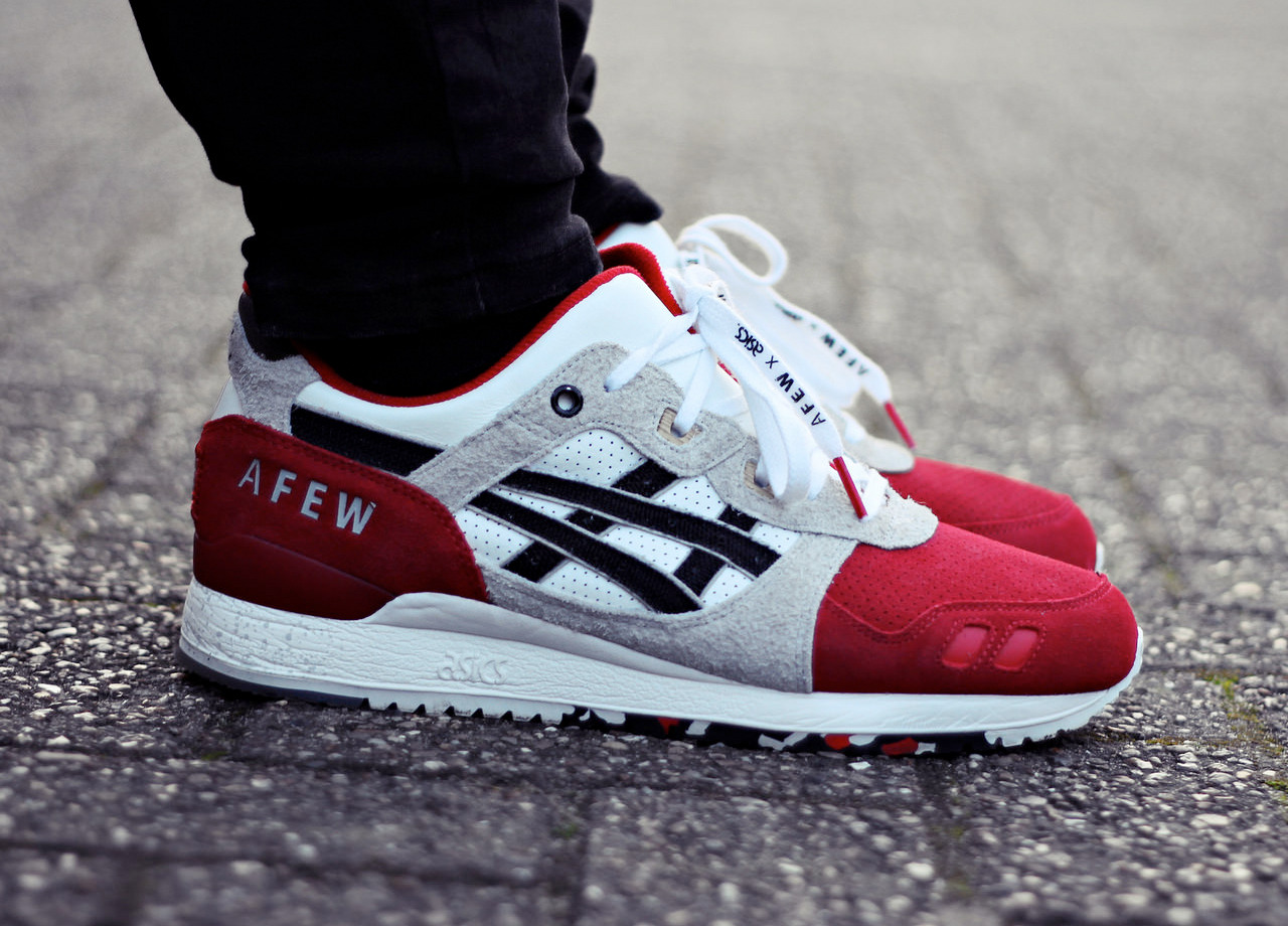 finest selection b4a36 dec87 Afew x Asics Gel Lyte III 'Koi' (by rom80) – Sweetsoles ...