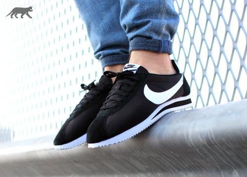 White Nike Cortez Tumblr