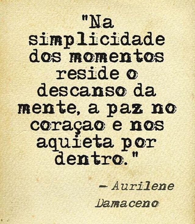 Aurilene Damaceno Na Simplicidade Dos Momentos Reside O