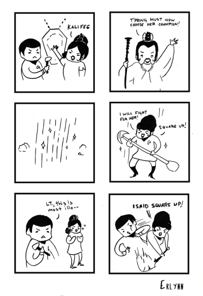 star trek uhura nackt comic