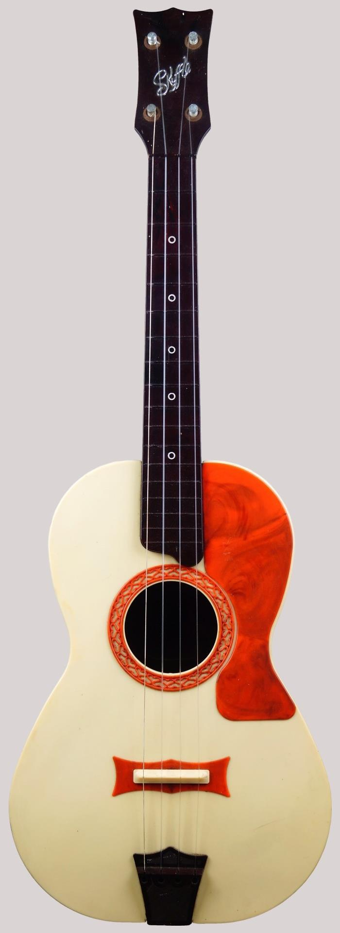 selcol skiffle plastic baritone ukulele