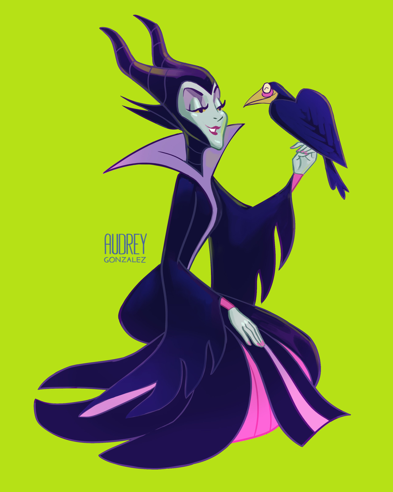 Audblog Maleficent And Diablo Her Faithful Raven She S A