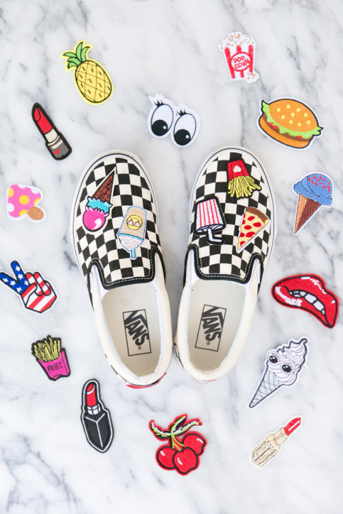 f07a29cdec DIY Checkerboard Slip-Ons If you have access to the ...