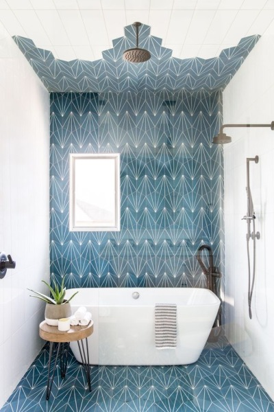 This Kids' Bathroom Is So Chic That Even Adults Will Be Jealous