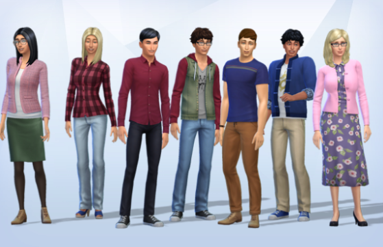 Saturday CAS pop culture: The Big Bang Theory characters.You should be able to tell who they are, and you can look on the gallery. #sims 4#ts4 #sims 4 story #simblr#saturday cas#december 2019 #the big bang theory #tbbt #amy farrah fowler #penny hofstadter#howard wolowitz#leonard hofstadter#sheldon cooper#rajesh koothrappali#bernadette rostenkowski