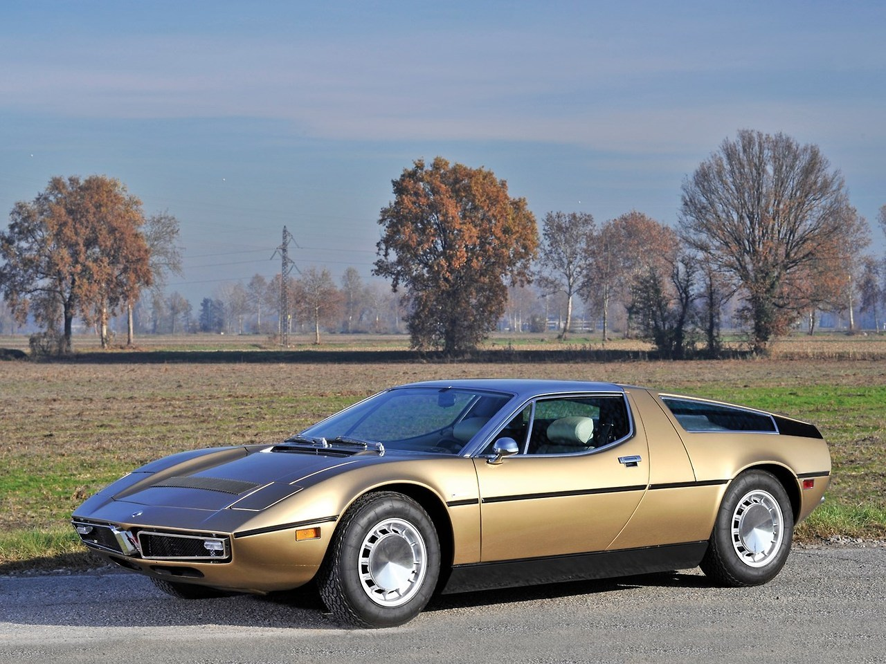 1974 Maserati Bora NEW ! GentleCar is on Instagram !