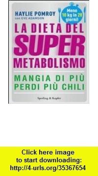 La Dieta Del Supermetabolismo Ebook