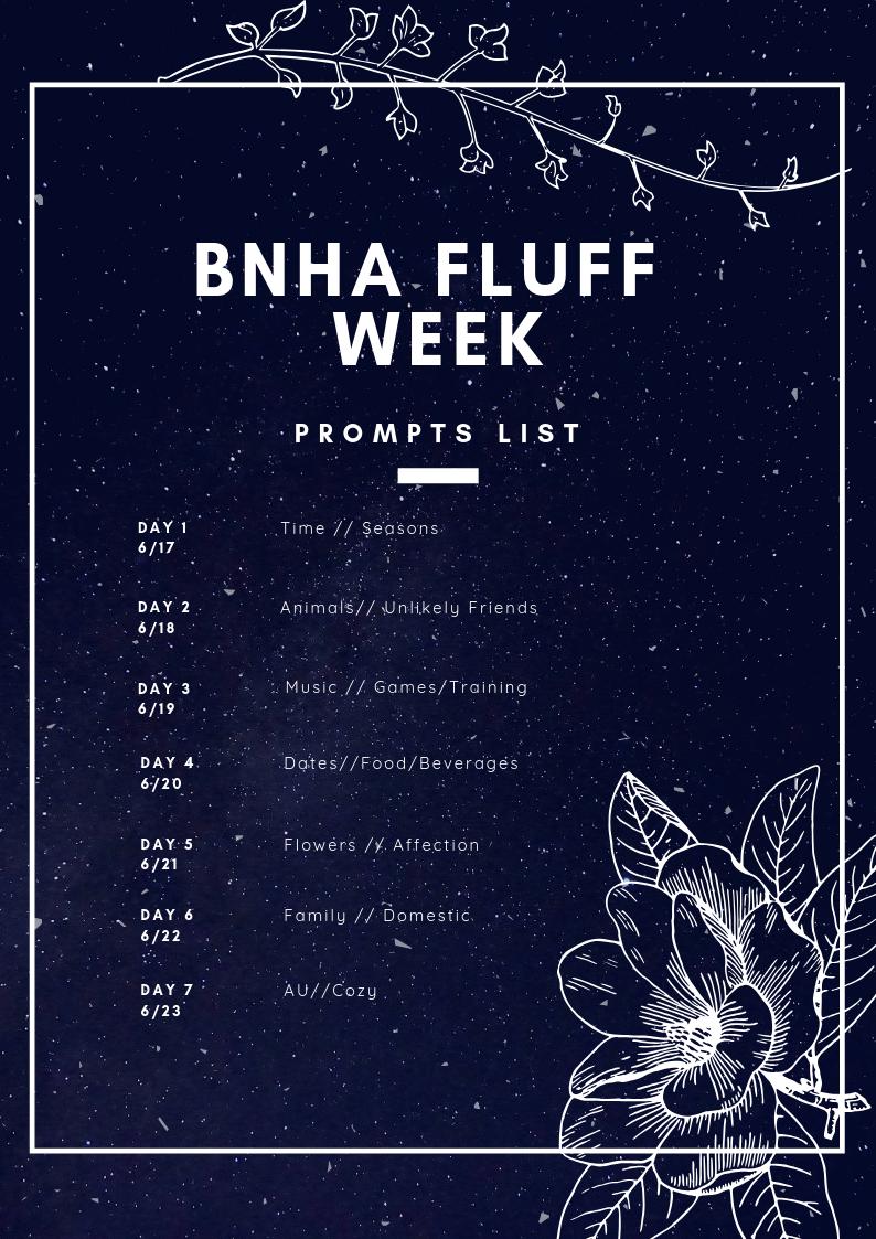 BNHA Angst Week