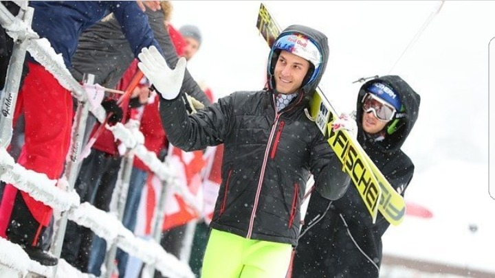 Keep on shining Gregor!☀All the best luck for todays competition! I know u can do better!💙 #gregor schlierenzauer#ski jumping#new day#new competition#new chance #all the best luck  #u can do better  #hero we believe in u 💙  #ski jumping family #engelberg #ski jumping world cup #switzerland #keep on shining #sunshine