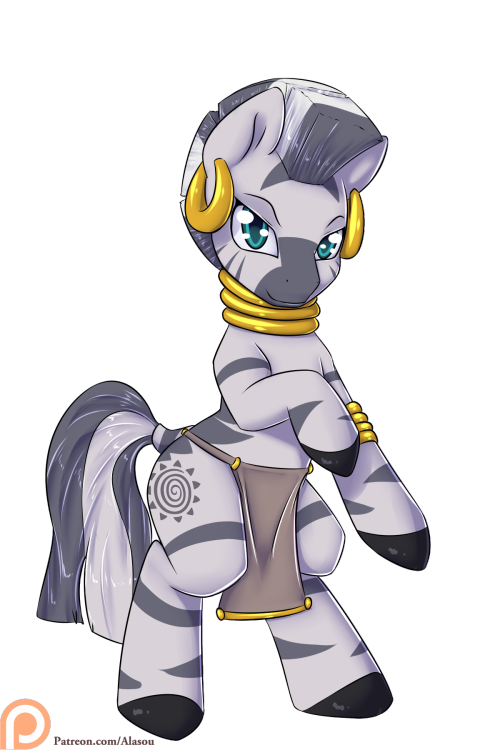 alasou mlp my little pony patreon zecora zebra tribal
