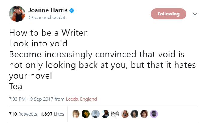 Amandaonwriting: How to be a writer via @Joannechocolat