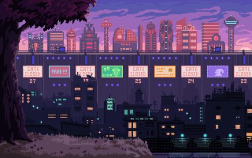 pixel art illustration adventure game artists on tumblr environment
