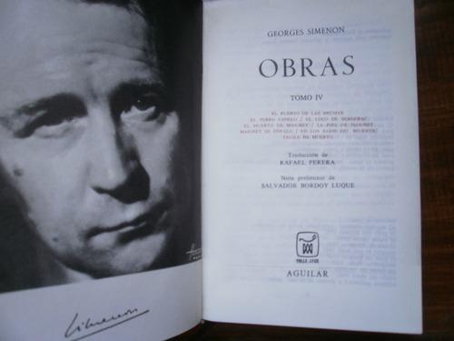 #347 Novelas psicológicas * Georges Simenon